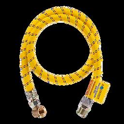 Conector flexible trenzado para gas