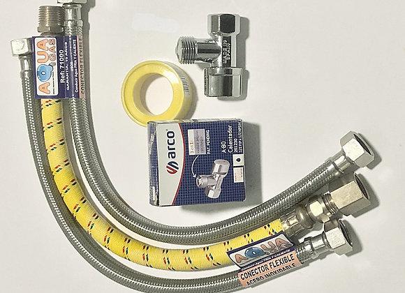 Kit  # 1 Flujo mediano 40 cms , Conector TRENZADO AQ&G