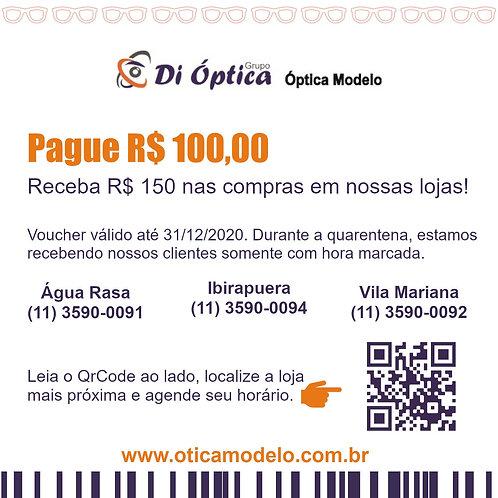 Voucher - R$ 150,00