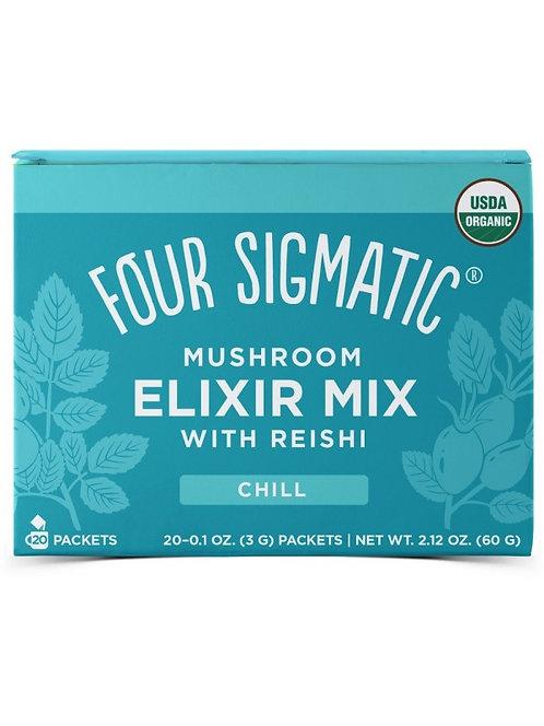 Four Sigmatic - Reishi Mushroom Elixir Tea - Mix 20 Sachets - CHILL