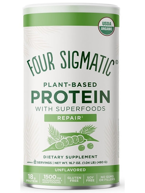 Four Sigmatic Organic Plant Based Protein Supplement - 450g