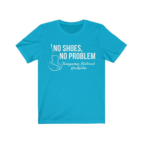 No Shoes, No Problem Unisex Jersey Short Sleeve Tee