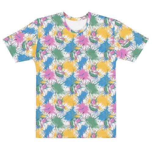 Fish & Fiddle Pattern Unisex T-shirt
