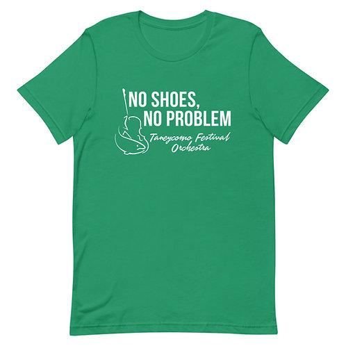 No Shoes, No Problem Unisex T-Shirt