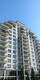 high rise, residential, commercial, swing stage, window cleaning, London, Toronto, GTA, Kitchener, Niagara, Mississauga, Ontario