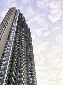 swing stage, high rise, commercial window cleaning, London, Toronto, GTA, Mississauga, Ontario
