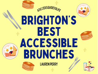 5 Wheelchair Accessible Brunches in Brighton
