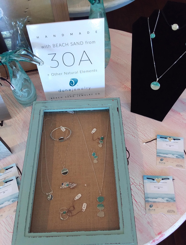 Locally made jewelry