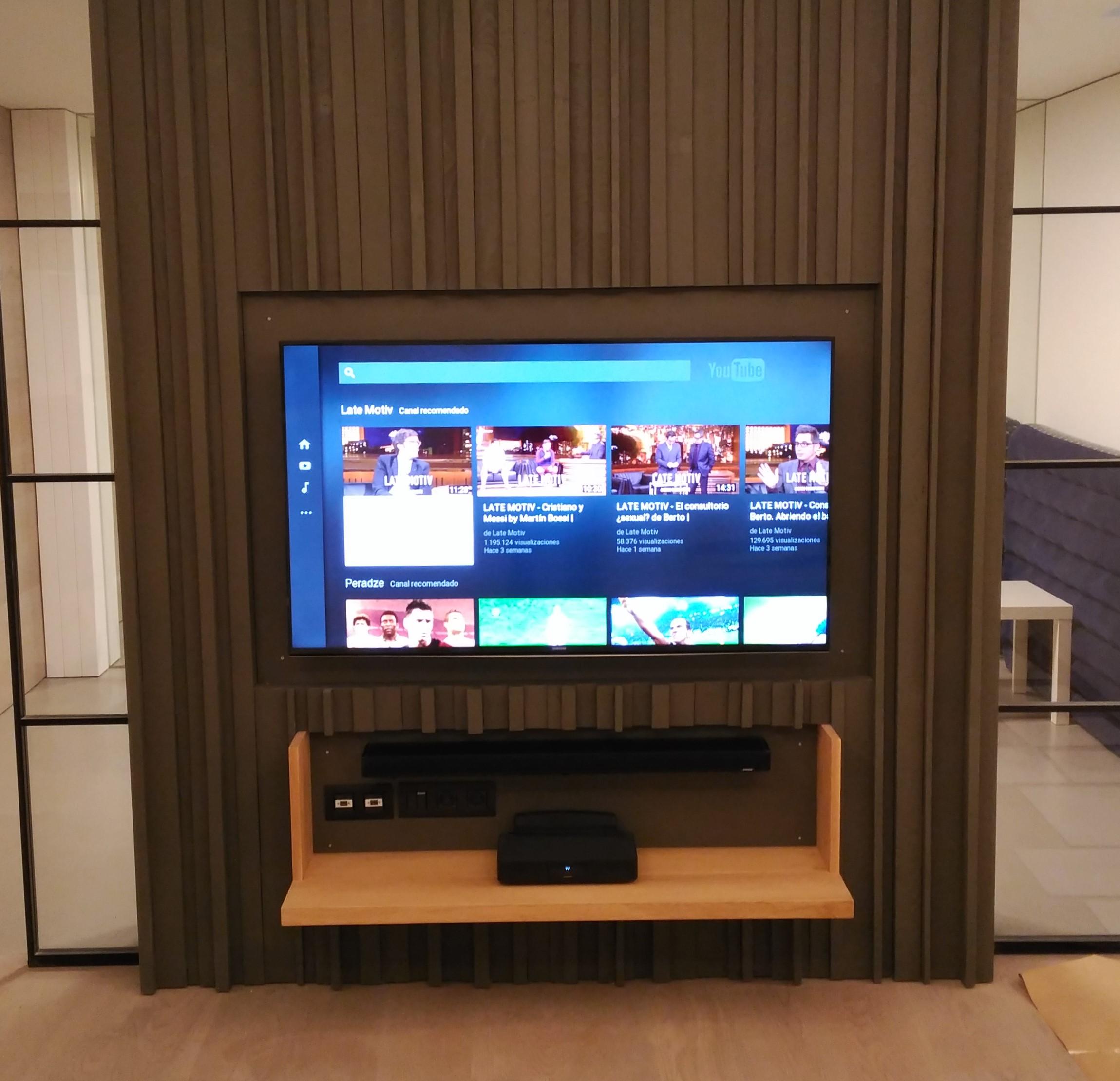 Sistema audiovisual doméstico