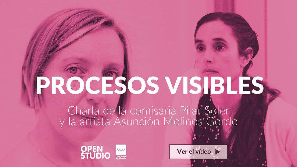 Charla de la comisaria Pilar Soler y Asuncion Molinos Gordo