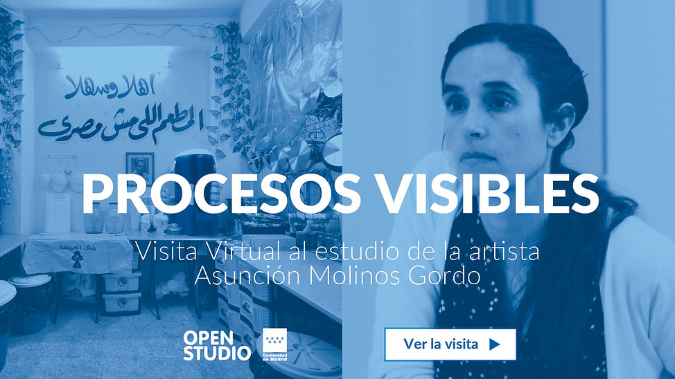 Visita virtual al estudio de Asunción Molinos Gordo