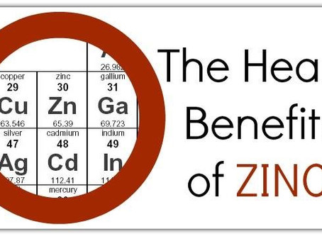 The Benefits Of Zinc