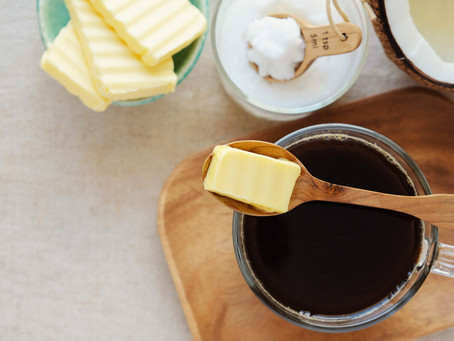 The Benefits of mct oil and grass fed butter with coffee