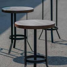 Walnut stools