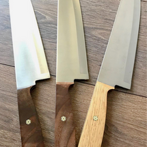 Assorted chef's knives