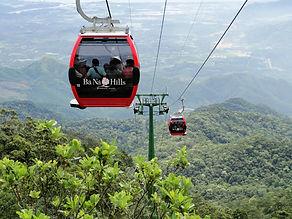 峴港 Local Tour | 峴港巴拿山 , 䌫車, banahill