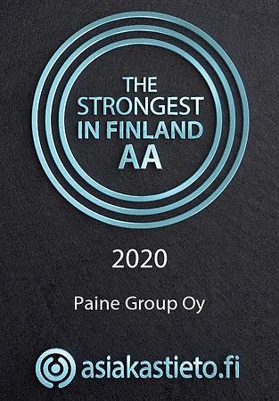 Suomen vahvimmat - AA - Paine Group Oy