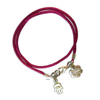 Hamsa luck wrap bracelet