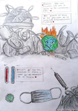 Dibujo Jordi Almendros, 12 años