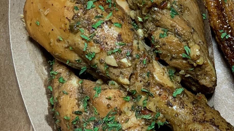 Medium Dominican Stew Chicken