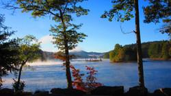 Fall Foliage at Lake Glenville