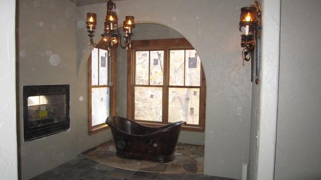 Main Master Bath Copper Tub