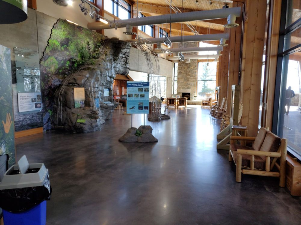 Visitors Center at Gorges State Park