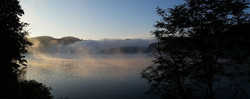 Lake Glenville Fog