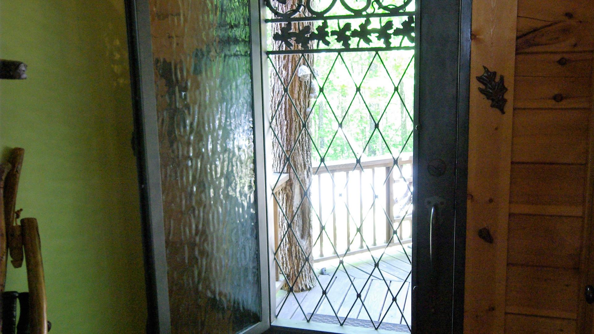 Custom Steel Front Door