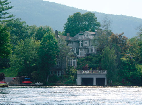 Greystone Inn from Lake Toxaway