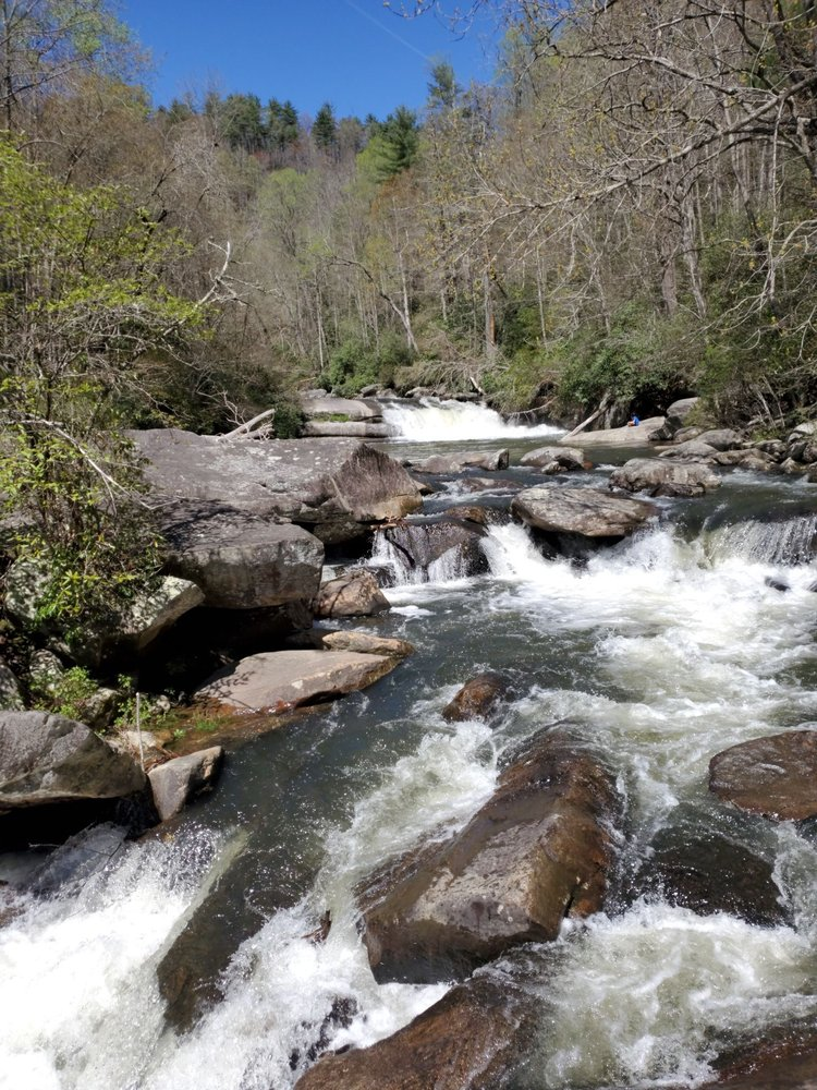 Horsepasture River in Gorges State