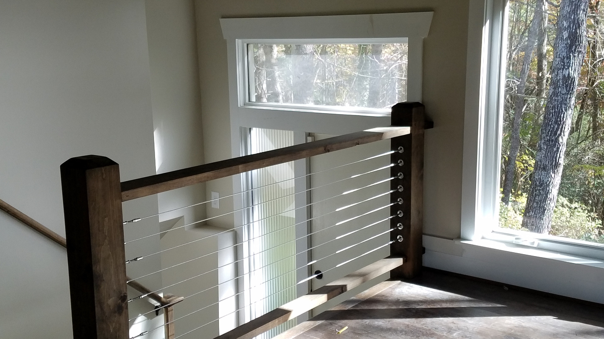 Post & Cable Handrails