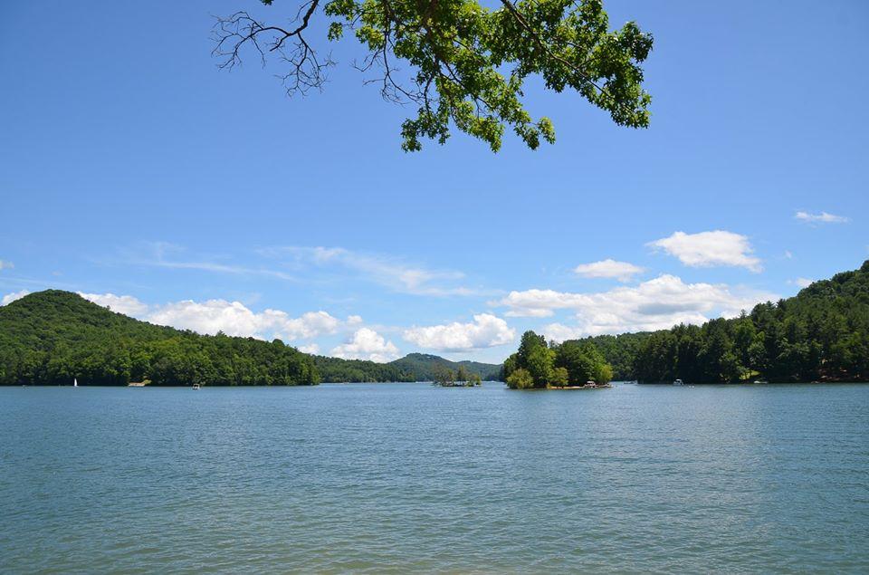 Lake Glenville Island