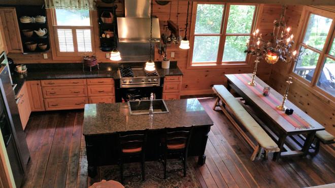 Gourmet Kitchen as seen from Loft