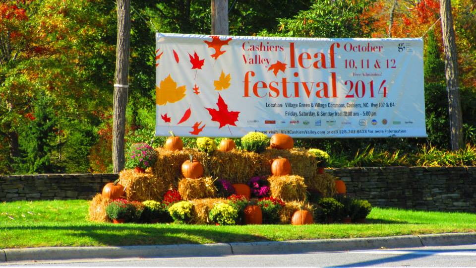 Cashiers Leaf Festival