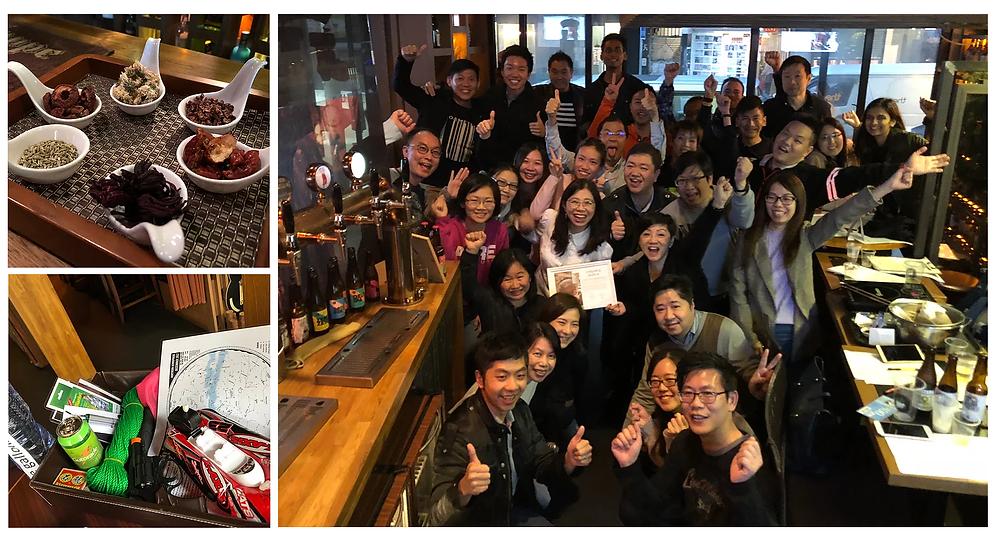 team building Beer brewlab - hong kong 2018
