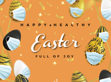 Stay Safe and Have a Healthy Easter!