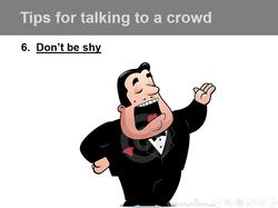 Speaking Tips