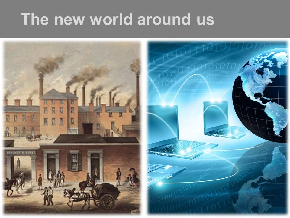 The New World Around Us
