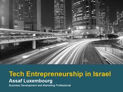Tech Entrepreneurship