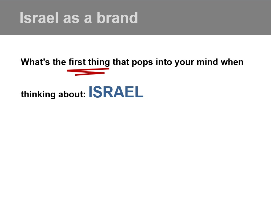 The Brand of Israel