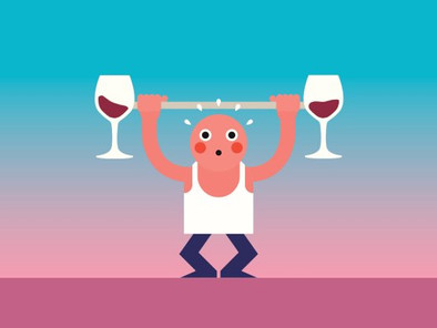 Sip Smart-4 Ways Alcohol Affects Training