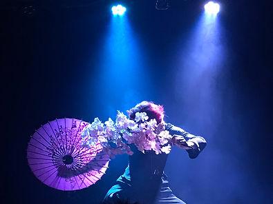 マジシャン鈴木大河|マジック・手品の世界|和風演目『夜桜』