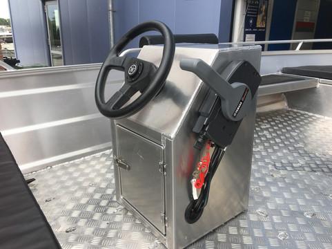 aluminium boot console