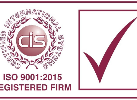 Why are industry accreditations like ISO 9001 so important?