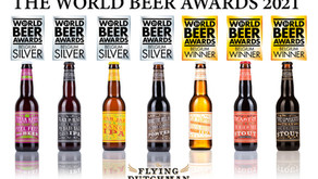 Flying Dutchman wint 3 Goud en 4 Zilver op The World Beer Awards in London!