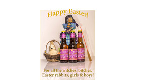 It's almost Easter again! Witching Bitching is brewed and is ready to be enjoyed!
