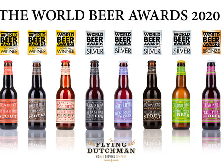 Happy winners at The World Beer Awards 2020!