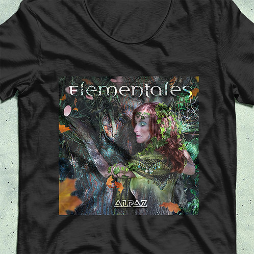 Elementales Tee (Black)