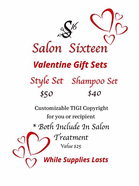 Valentines Day Special Salon Sixteen